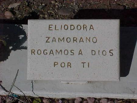ZAMORANO, ELIODORA - Gila County, Arizona   ELIODORA ZAMORANO - Arizona Gravestone Photos