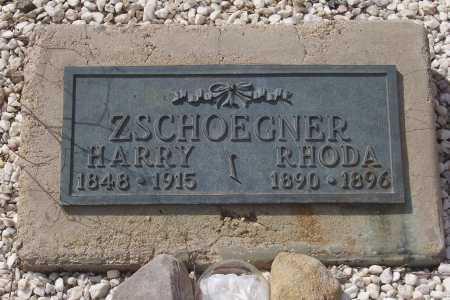 ZSCHOEGNER, HARRY - Gila County, Arizona | HARRY ZSCHOEGNER - Arizona Gravestone Photos