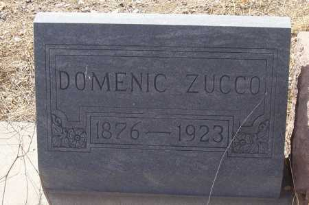 ZUCCO, DOMENIC - Gila County, Arizona | DOMENIC ZUCCO - Arizona Gravestone Photos