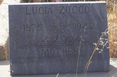 ZUCCO, LUCIA - Gila County, Arizona | LUCIA ZUCCO - Arizona Gravestone Photos