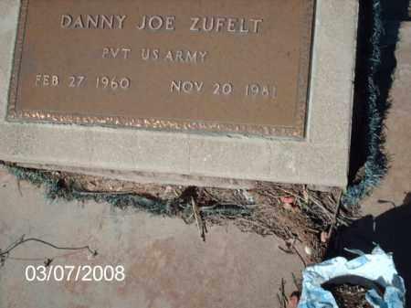 ZUFELT, DANNY - Gila County, Arizona   DANNY ZUFELT - Arizona Gravestone Photos