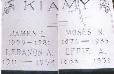KIAMY, LEBANON A. - Gila County, Arizona | LEBANON A. KIAMY - Arizona Gravestone Photos