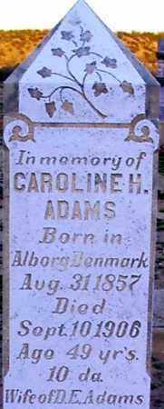 ADAMS, CAROLINE H. - Graham County, Arizona | CAROLINE H. ADAMS - Arizona Gravestone Photos
