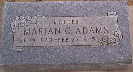 ADAMS, MARIAN C. - Graham County, Arizona | MARIAN C. ADAMS - Arizona Gravestone Photos