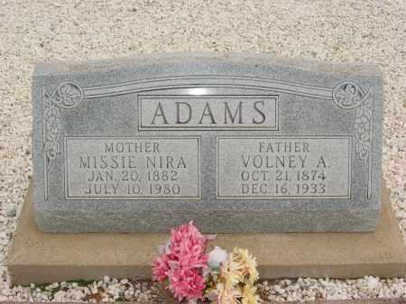ADAMS, MISSIE NIRA - Graham County, Arizona   MISSIE NIRA ADAMS - Arizona Gravestone Photos