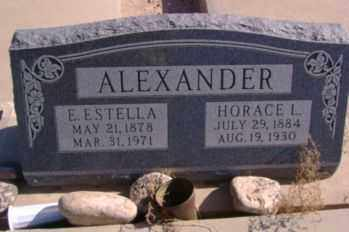 ALEXANDER, EDNA ESTELLA - Graham County, Arizona | EDNA ESTELLA ALEXANDER - Arizona Gravestone Photos