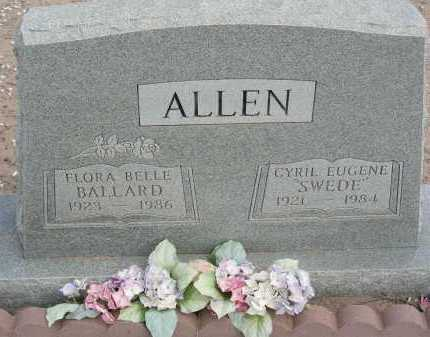 ALLEN, FLORA BELLE - Graham County, Arizona | FLORA BELLE ALLEN - Arizona Gravestone Photos