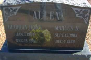 ALLEN, MARCUS D. - Graham County, Arizona | MARCUS D. ALLEN - Arizona Gravestone Photos