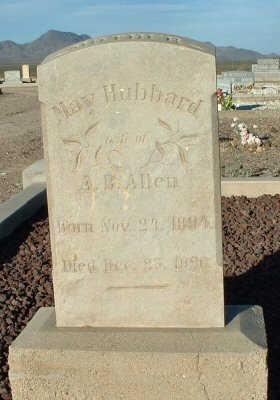 ALLEN, MAY - Graham County, Arizona | MAY ALLEN - Arizona Gravestone Photos