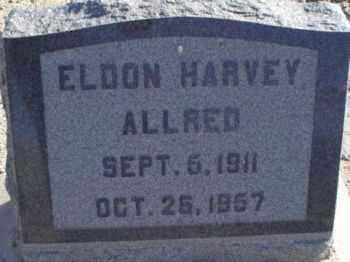 ALLRED, ELDON HARVEY - Graham County, Arizona | ELDON HARVEY ALLRED - Arizona Gravestone Photos