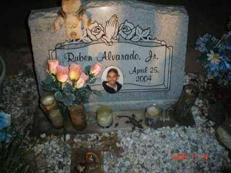 ALVARADO JR, RUBEN - Graham County, Arizona   RUBEN ALVARADO JR - Arizona Gravestone Photos