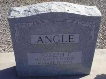 ANGLE, JOSEPH F. - Graham County, Arizona | JOSEPH F. ANGLE - Arizona Gravestone Photos