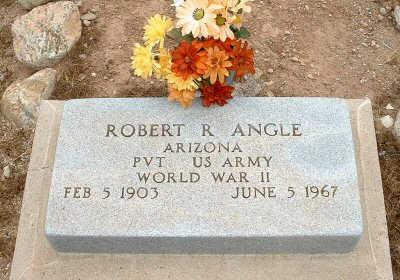 ANGLE, ROBERT R. - Graham County, Arizona | ROBERT R. ANGLE - Arizona Gravestone Photos