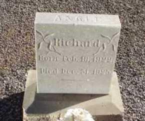 ANGLE, RICHARD WINFORD - Graham County, Arizona | RICHARD WINFORD ANGLE - Arizona Gravestone Photos