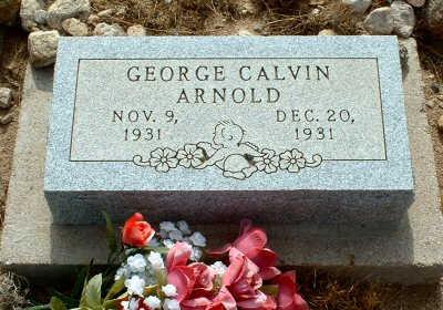 ARNOLD, GEORGE CALVIN - Graham County, Arizona | GEORGE CALVIN ARNOLD - Arizona Gravestone Photos
