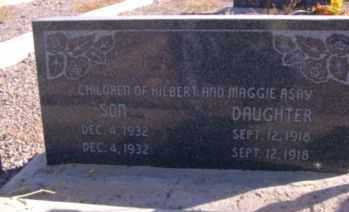 ASAY, SON - Graham County, Arizona | SON ASAY - Arizona Gravestone Photos