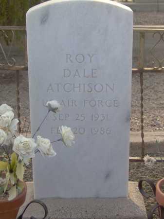 ATCHISON, ROY DALE - Graham County, Arizona   ROY DALE ATCHISON - Arizona Gravestone Photos