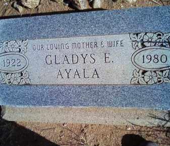 AYALA, GLADYS EULALIE - Graham County, Arizona | GLADYS EULALIE AYALA - Arizona Gravestone Photos