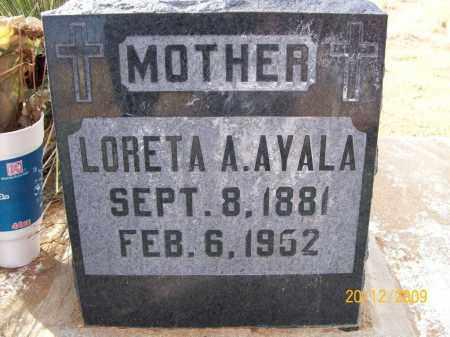 ACUNA AYALA, LORETA - Graham County, Arizona | LORETA ACUNA AYALA - Arizona Gravestone Photos