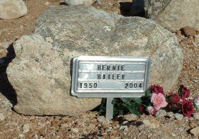 BAILEY, BERNIE - Graham County, Arizona   BERNIE BAILEY - Arizona Gravestone Photos