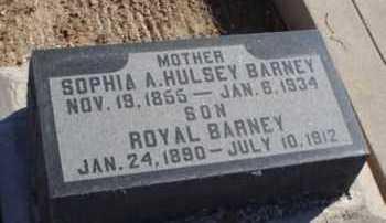 HULSEY UNDERWOOD, SOPHIA ARKANSAS - Graham County, Arizona | SOPHIA ARKANSAS HULSEY UNDERWOOD - Arizona Gravestone Photos