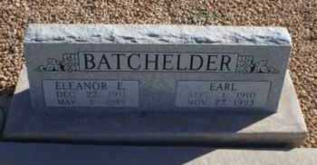 BATCHELDER, ELEANOR EVELYN - Graham County, Arizona | ELEANOR EVELYN BATCHELDER - Arizona Gravestone Photos
