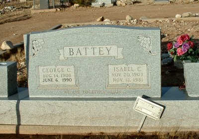 BATTEY, GEORGE C. - Graham County, Arizona | GEORGE C. BATTEY - Arizona Gravestone Photos