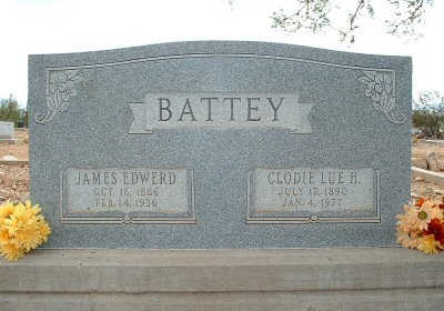 BATTEY, JAMES EDWERD - Graham County, Arizona | JAMES EDWERD BATTEY - Arizona Gravestone Photos