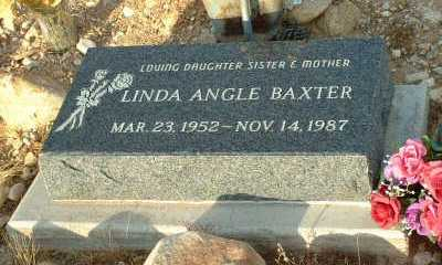 BAXTER, LINDA - Graham County, Arizona | LINDA BAXTER - Arizona Gravestone Photos