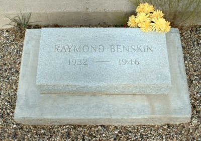 BENSKIN, RAYMOND - Graham County, Arizona | RAYMOND BENSKIN - Arizona Gravestone Photos