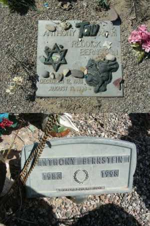 "BERNSTEIN, ANTHONY ""TONY"" ADAM REDDICK - Graham County, Arizona | ANTHONY ""TONY"" ADAM REDDICK BERNSTEIN - Arizona Gravestone Photos"