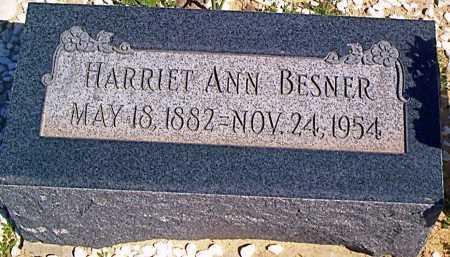 BESNER, HARRIET ANN - Graham County, Arizona | HARRIET ANN BESNER - Arizona Gravestone Photos