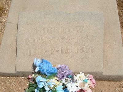 BIGELOW, SIMEON RAY - Graham County, Arizona | SIMEON RAY BIGELOW - Arizona Gravestone Photos