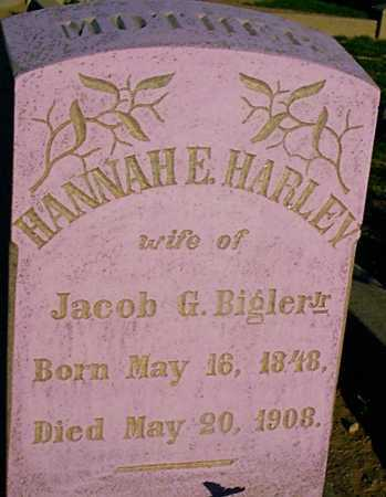 BIGLER, HANNAH E. - Graham County, Arizona | HANNAH E. BIGLER - Arizona Gravestone Photos