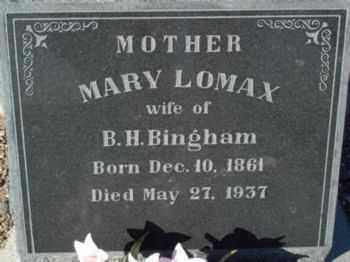 BINGHAM, MARY ALICE - Graham County, Arizona | MARY ALICE BINGHAM - Arizona Gravestone Photos