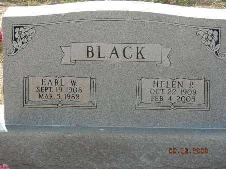 BLACK, EARL W - Graham County, Arizona | EARL W BLACK - Arizona Gravestone Photos