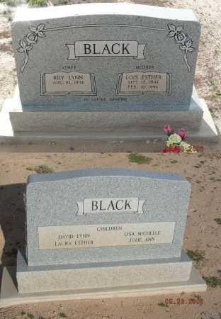 BLACK, LOIS ESTHER - Graham County, Arizona | LOIS ESTHER BLACK - Arizona Gravestone Photos