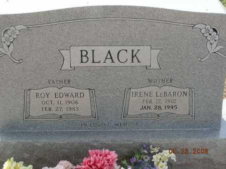 LEBARON BLACK, IRENE - Graham County, Arizona | IRENE LEBARON BLACK - Arizona Gravestone Photos
