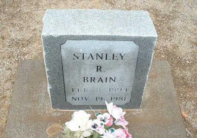BRAIN, STANLEY R. - Graham County, Arizona   STANLEY R. BRAIN - Arizona Gravestone Photos