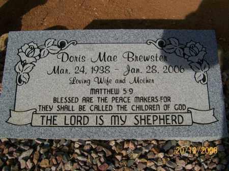 BREWSTER, DORIS MAE - Graham County, Arizona | DORIS MAE BREWSTER - Arizona Gravestone Photos