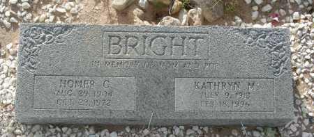 BRIGHT, KATHRYN M - Graham County, Arizona | KATHRYN M BRIGHT - Arizona Gravestone Photos