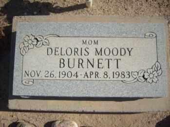 BURNETT, DELORIS - Graham County, Arizona   DELORIS BURNETT - Arizona Gravestone Photos