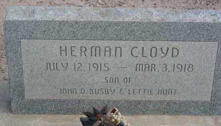 BUSBY, HERMAN CLOYD - Graham County, Arizona | HERMAN CLOYD BUSBY - Arizona Gravestone Photos