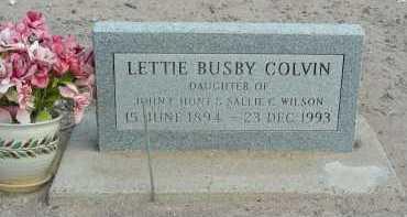 COLVIN, LETTIE - Graham County, Arizona | LETTIE COLVIN - Arizona Gravestone Photos