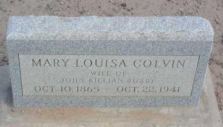 BUSBY, MARY LOUISA - Graham County, Arizona | MARY LOUISA BUSBY - Arizona Gravestone Photos