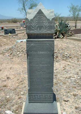 BUTLER, JOHN - Graham County, Arizona   JOHN BUTLER - Arizona Gravestone Photos
