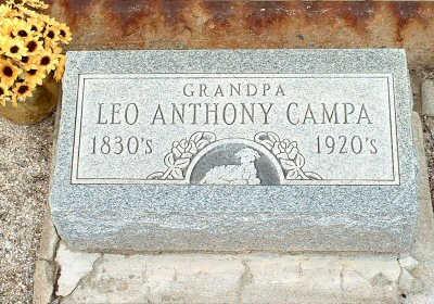 CAMPA, LEO ANTHONY - Graham County, Arizona   LEO ANTHONY CAMPA - Arizona Gravestone Photos