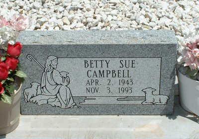 CAMPBELL, BETTY SUE - Graham County, Arizona | BETTY SUE CAMPBELL - Arizona Gravestone Photos
