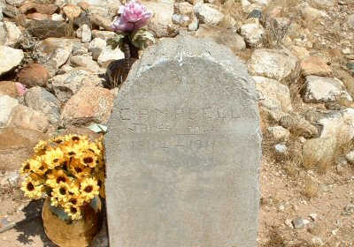 CAMPBELL, JAMES POLK - Graham County, Arizona | JAMES POLK CAMPBELL - Arizona Gravestone Photos