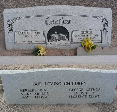 CAUTHEN, LEONA PEARL - Graham County, Arizona | LEONA PEARL CAUTHEN - Arizona Gravestone Photos